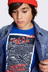 CKS KIDS - YARLES - T-shirt korte mouwen - blauw