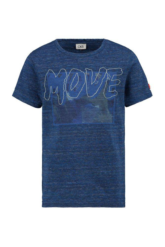 CKS KIDS - YAXEL - T-shirt manches courtes - bleu