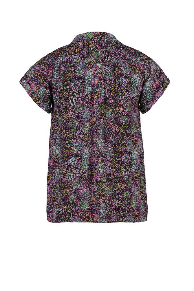 CKS WOMEN - LANDRY - Bluse kurze Ärmel - Mehrfarbig