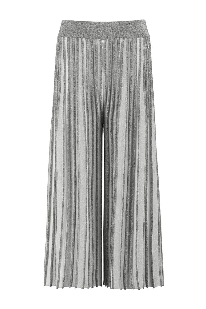 CKS KIDS - LAIT - Trousers 7/8 - silver
