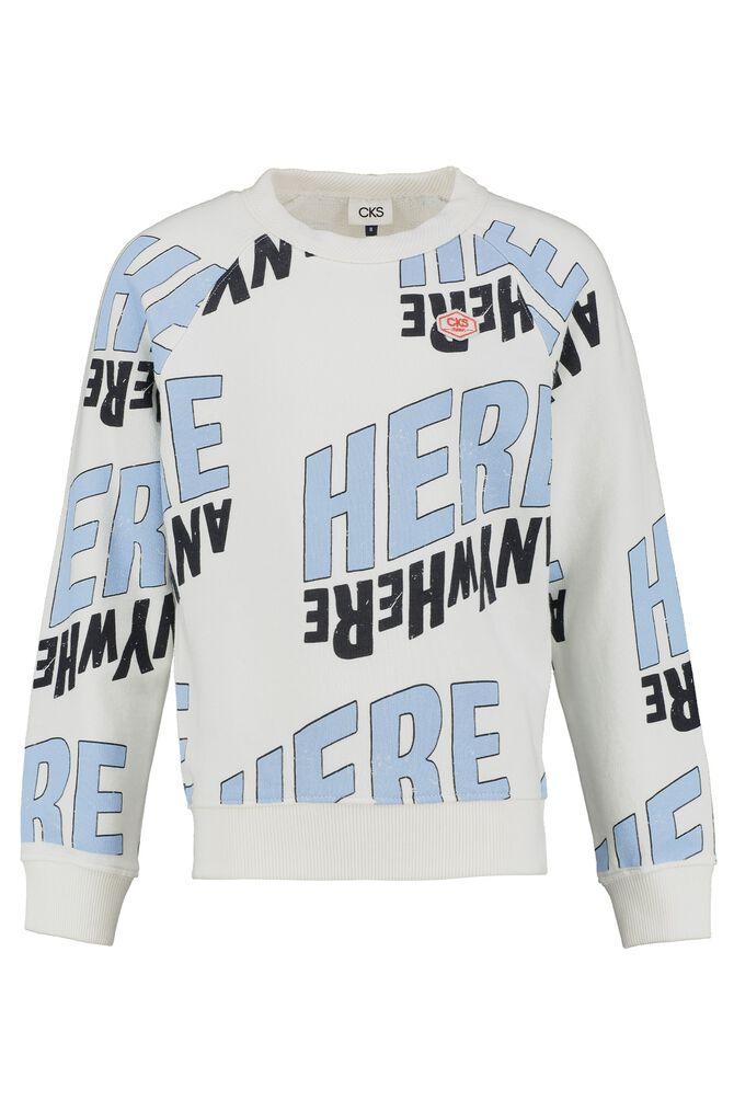 CKS KIDS - BADRIAN - Sweater - white