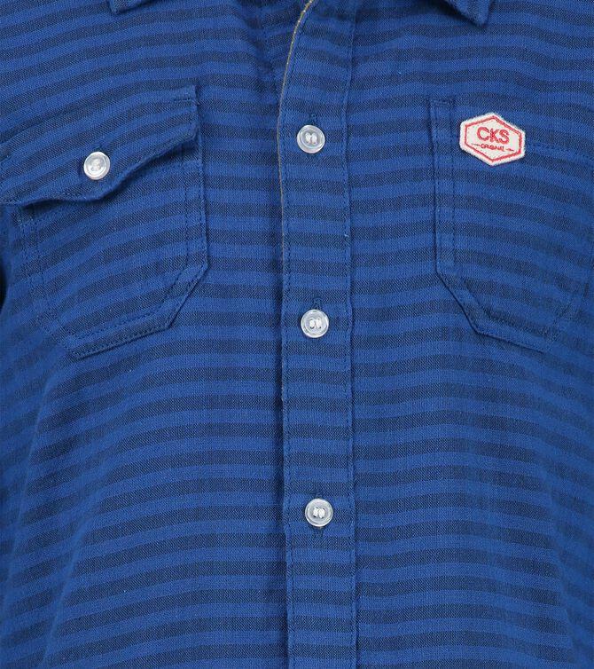 CKS KIDS - BRANDREW - Hemd lange Ärmel - Blau