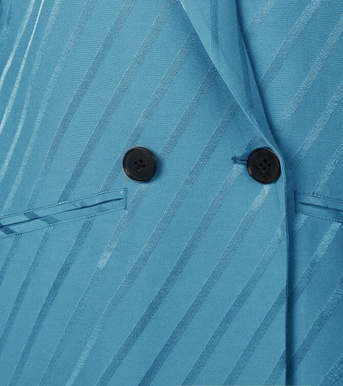 CKS WOMEN - LAGARUS - Blazer long - blue