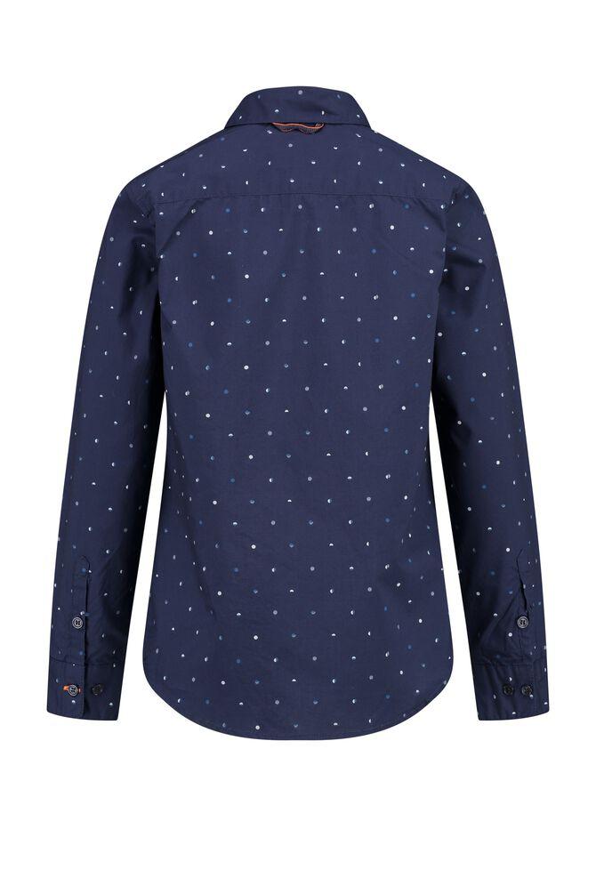CKS KIDS - BOTAN - Hemd lange mouwen - blauw