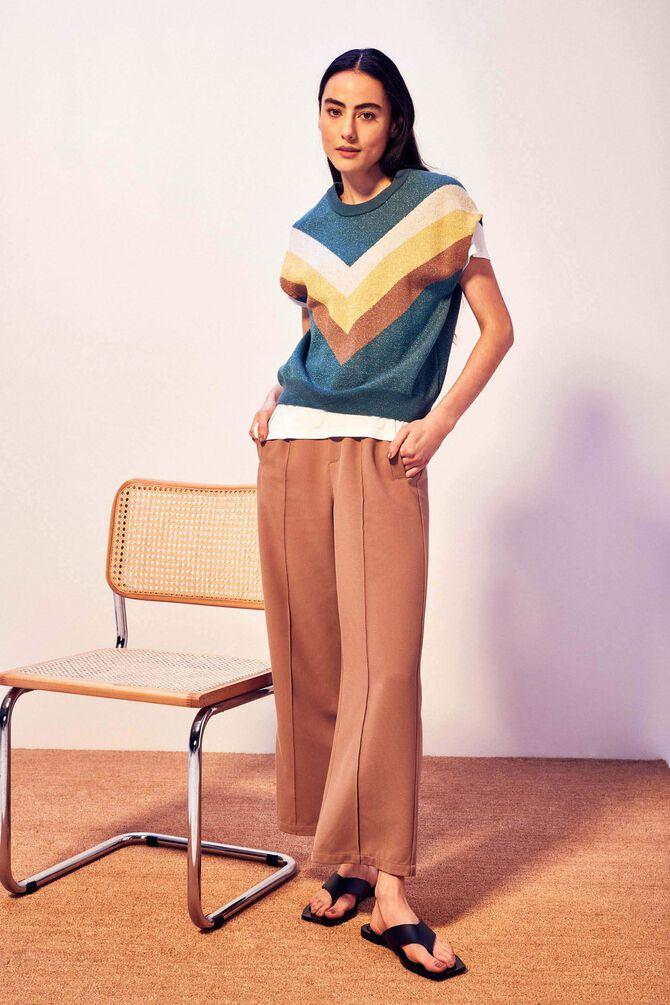CKS WOMEN - TBILISI - 7/8 broek - beige