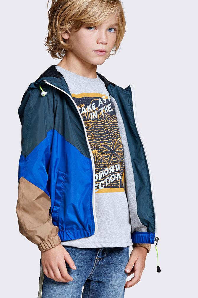 CKS KIDS - YARNOLD - T-shirt manches courtes - gris