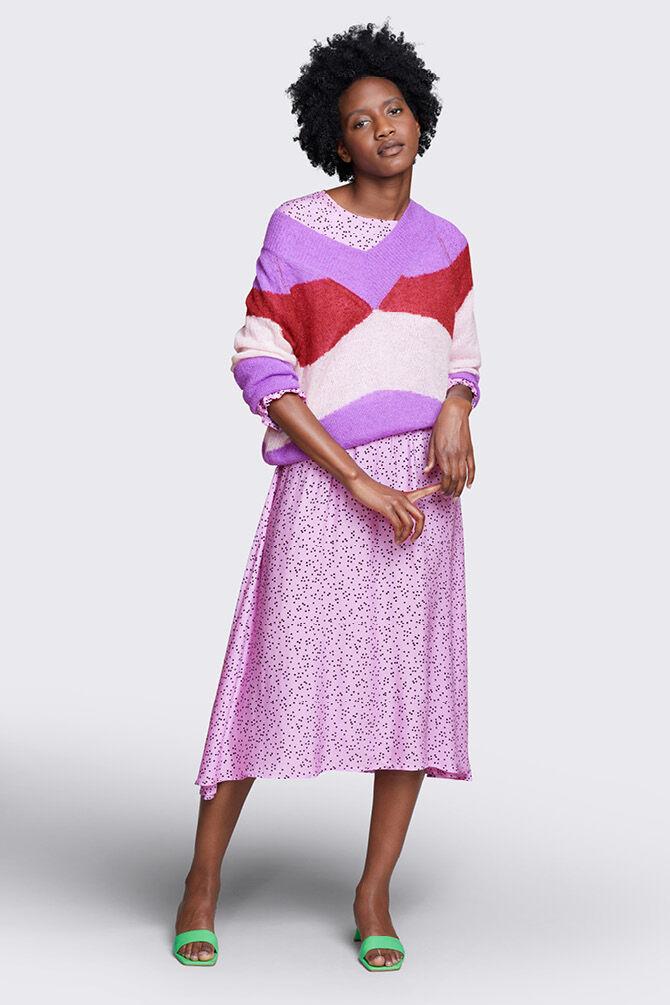 CKS WOMEN - JANEL - Dress long - purple