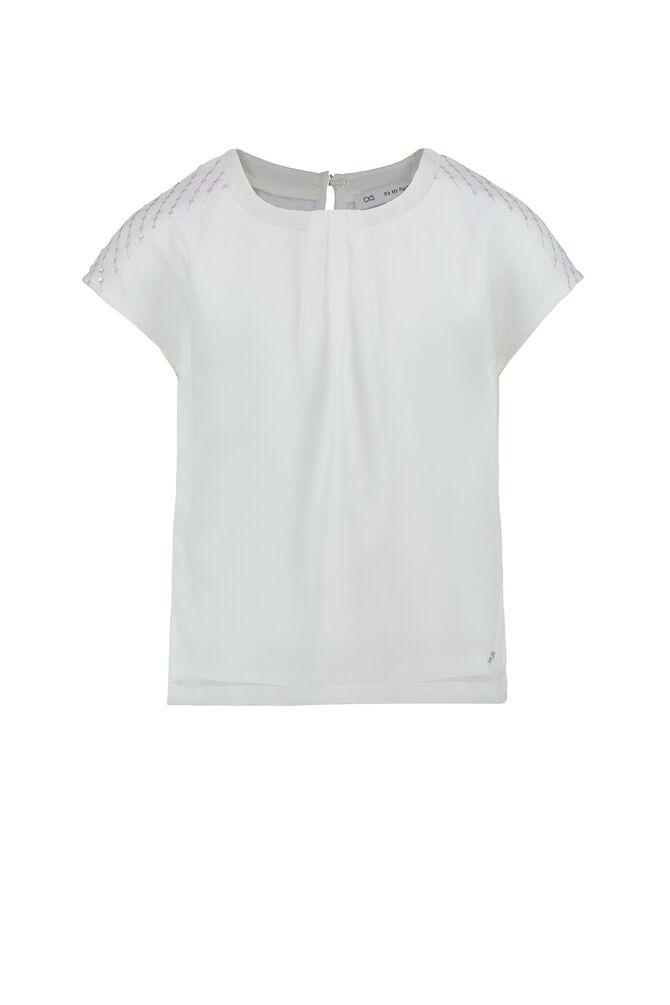 CKS KIDS - DAHLIA - Blouse short sleeves - white
