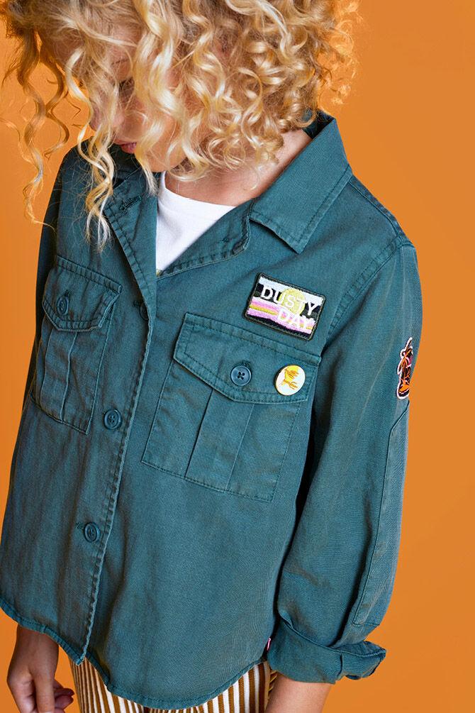 CKS KIDS - IMANI - Korte jacket - groen